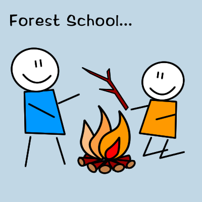 Forest School Graphic
